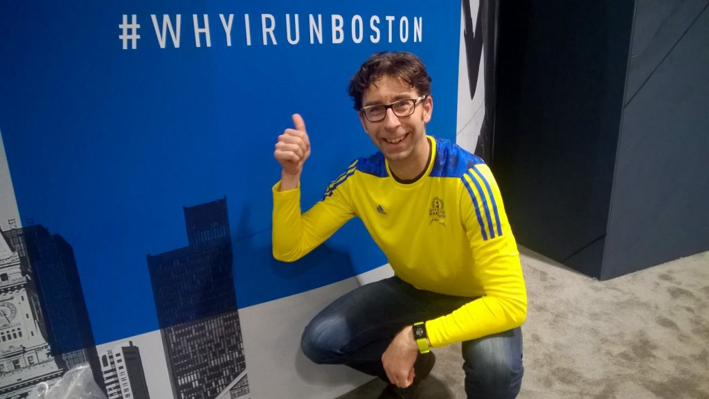 Boston Marathon Expo day was a great time to feel the community excitement around the big run.